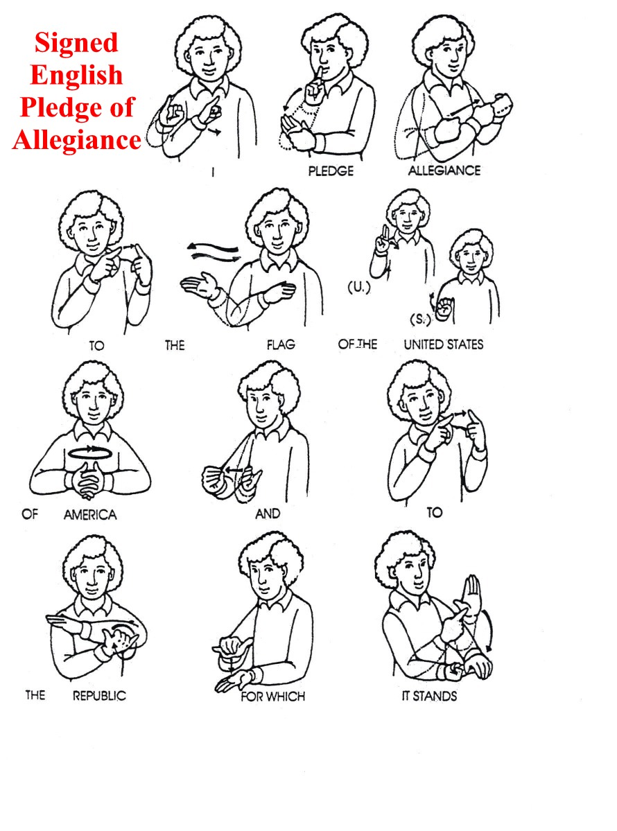 6 best images of printable sign language dictionary sign