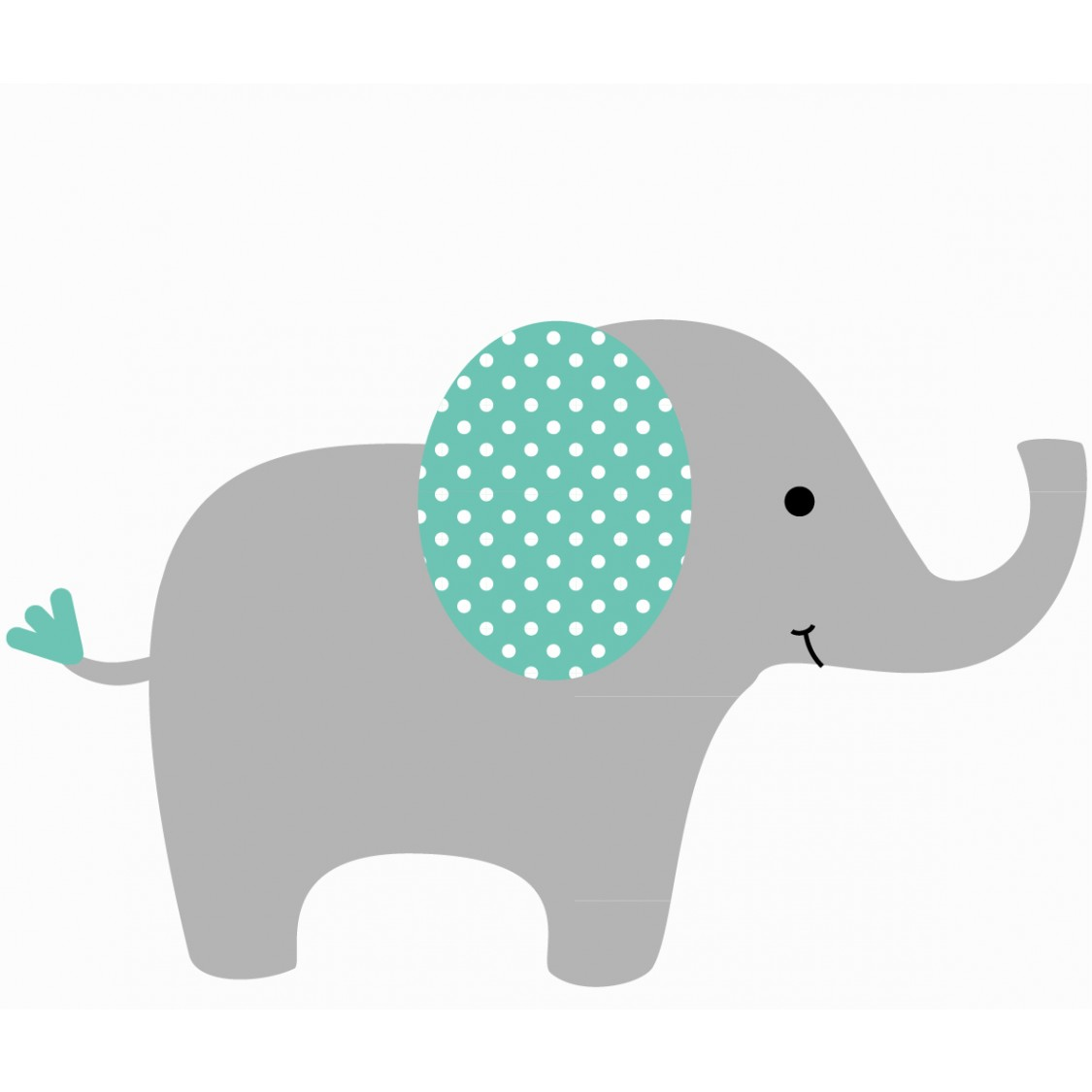 9 Images of Free Printable Nursery And Baby Elephant