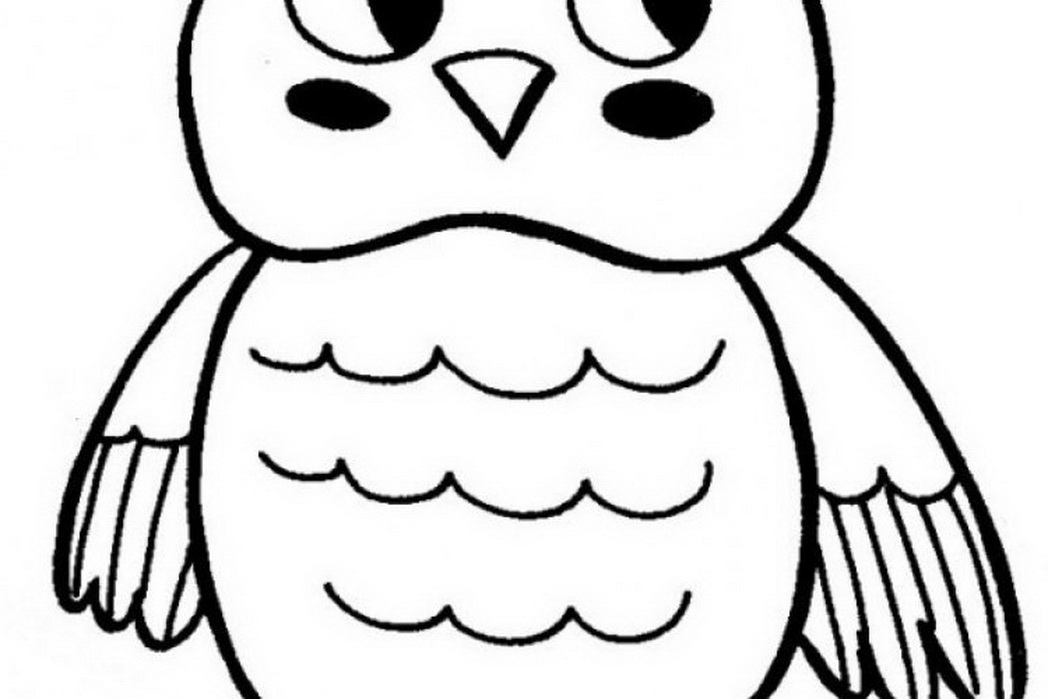 cute girl owl coloring pages