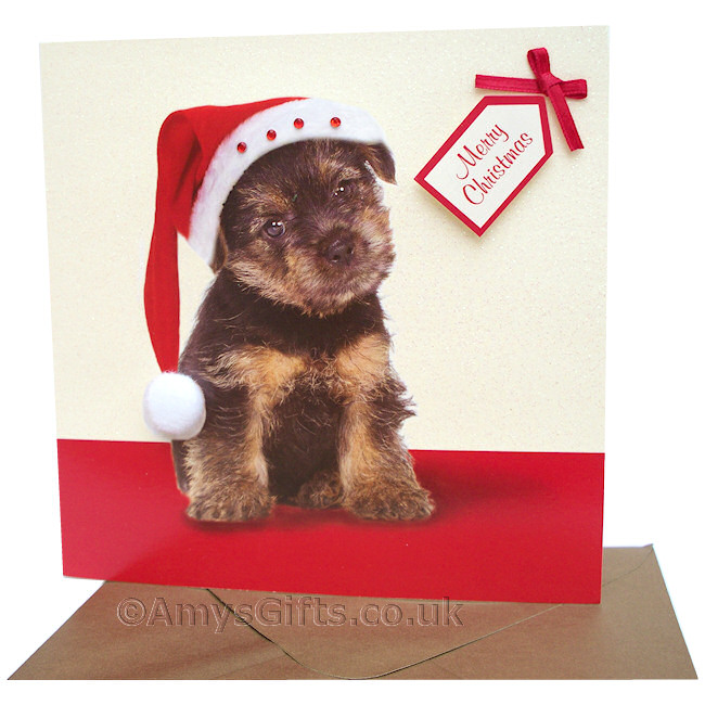 4 Images of Free Printable Dog Christmas Cards