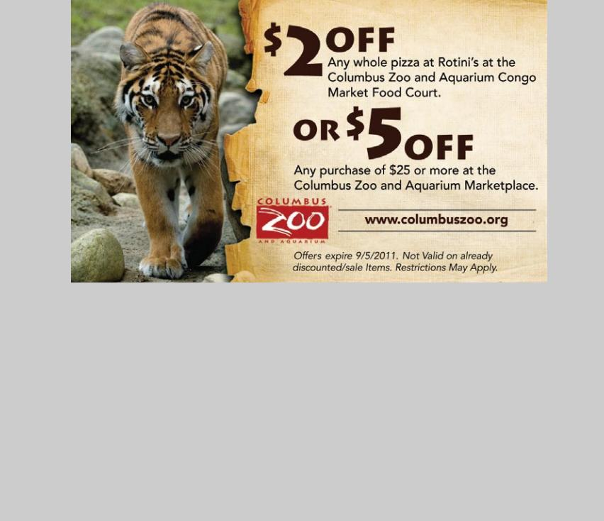 Seattle zoo coupon 2018