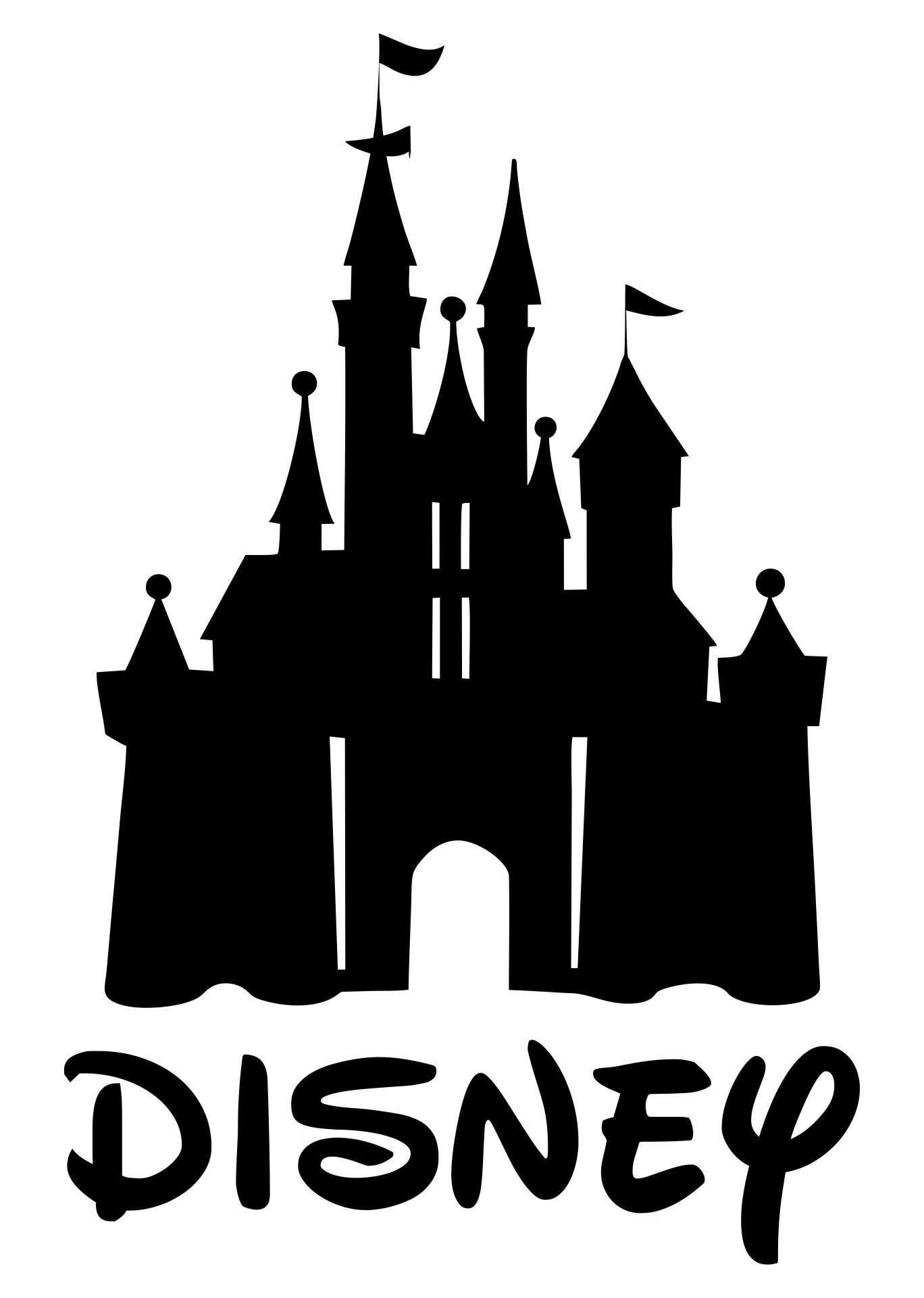 Disney Castle Silhouette