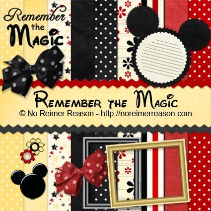 Free Disney Digital Scrapbook Kit