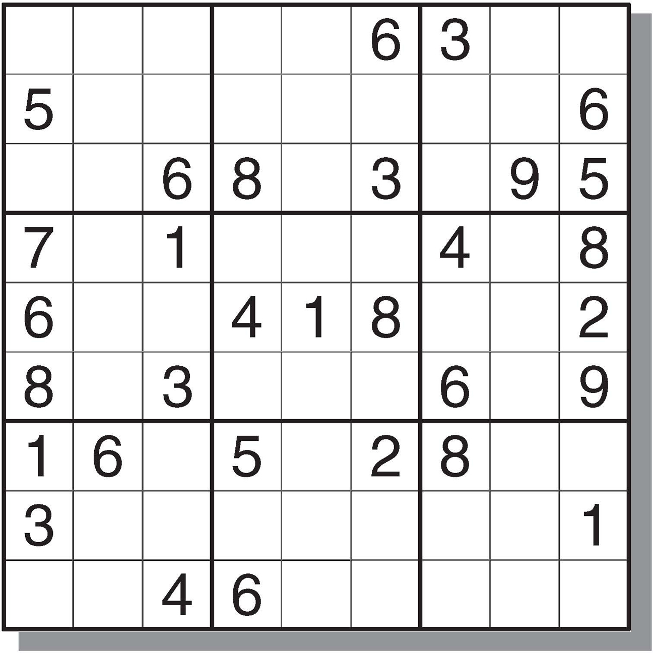 Sudoku Oneline