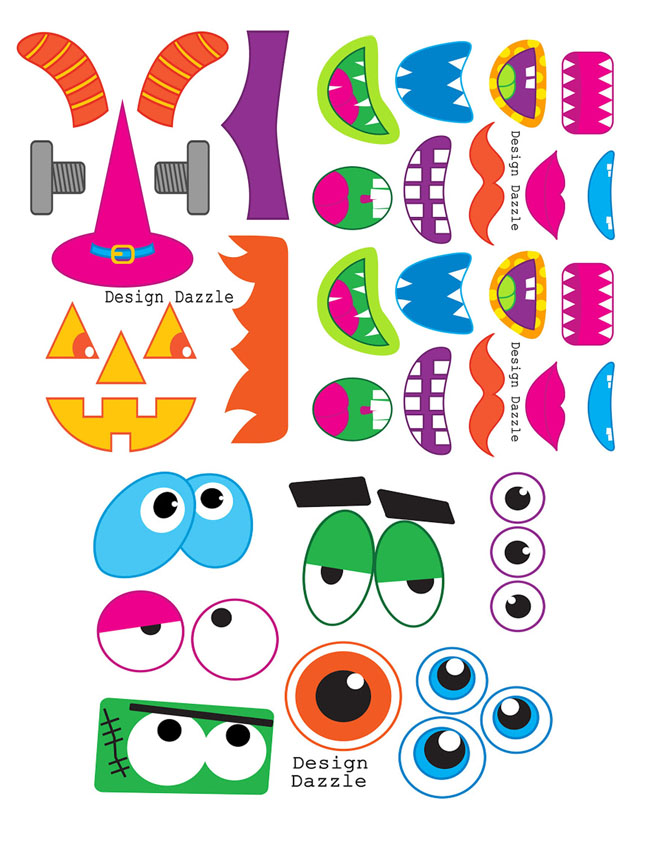 4 Images of Free Monster Printables