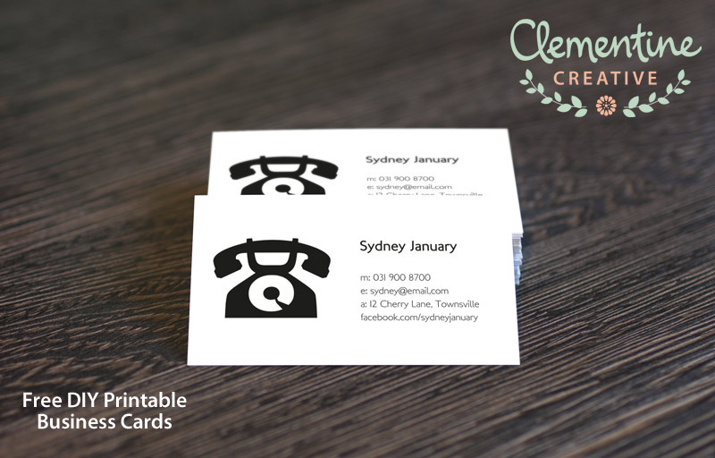 5 Images of All Free Printable Business Cards