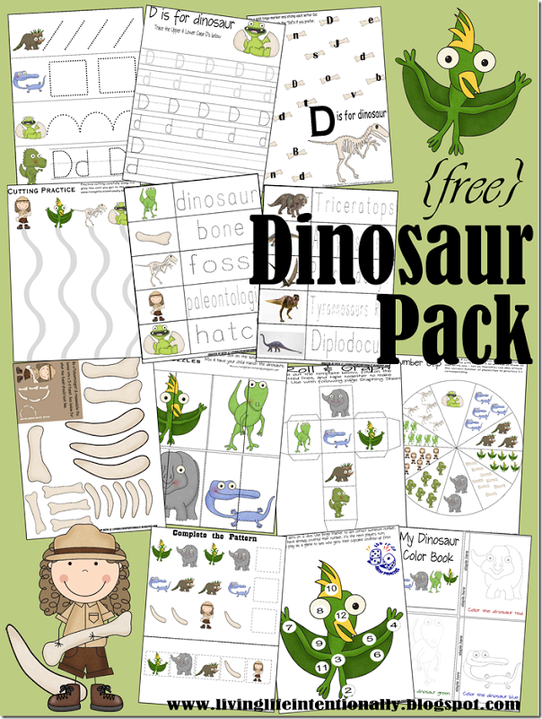 Free Printable Dinosaur Activities