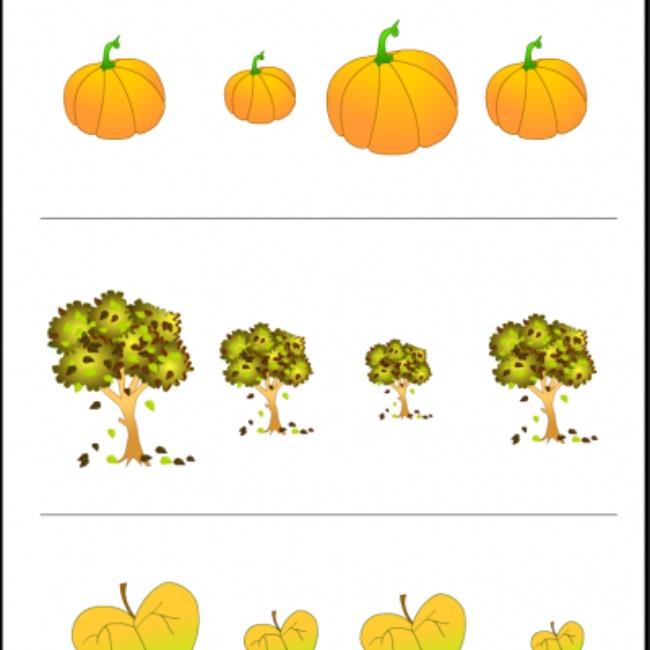 7 Images of Free Preschool Printables Fall