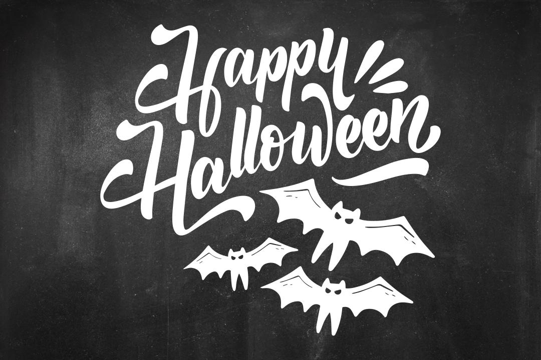 7 Images of Free Halloween Chalkboard Art Printables
