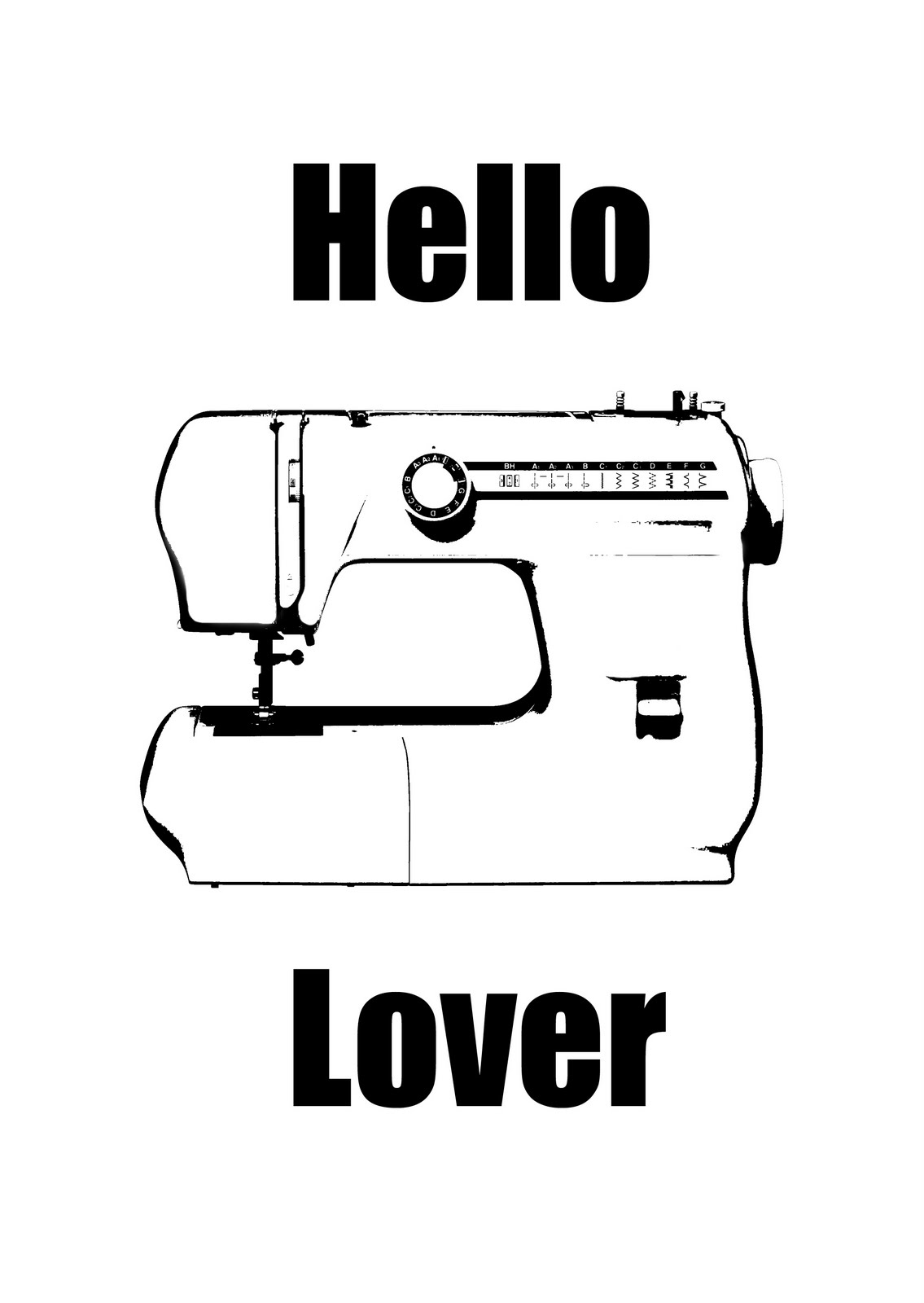 8 Images of Sewing Machine Printable