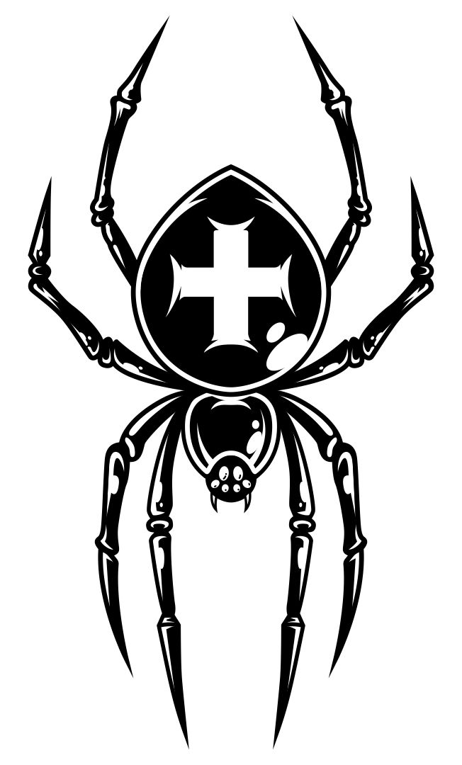 Printable Spider Template