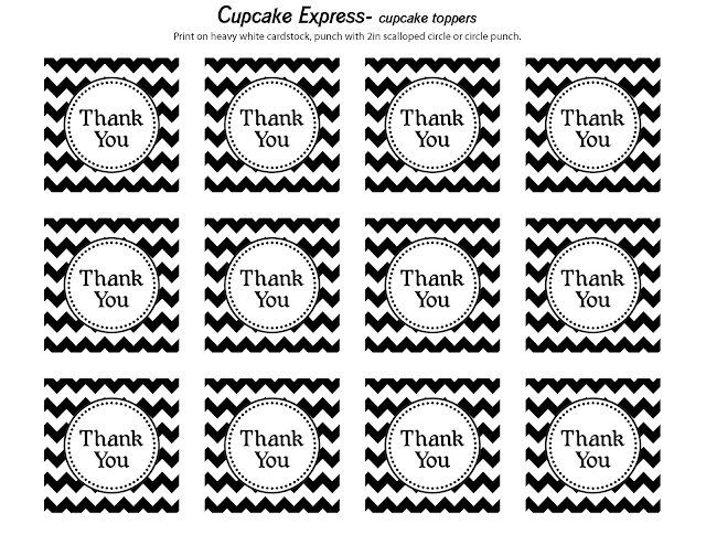 6 Images of Black White Chevron Printable Gift Tags