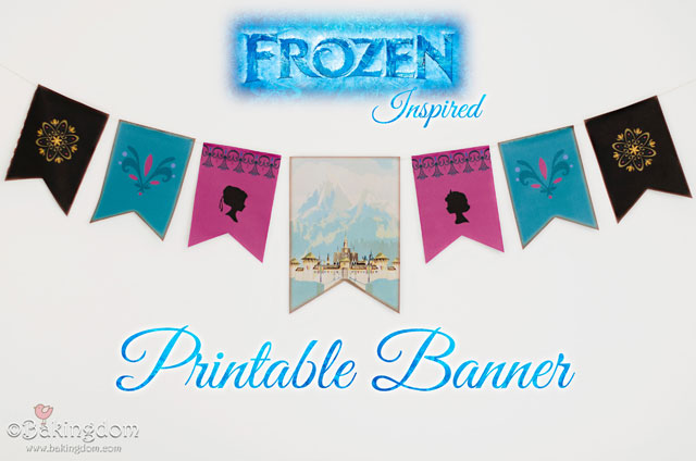 5 Images of Frozen Birthday Banner Free Printable