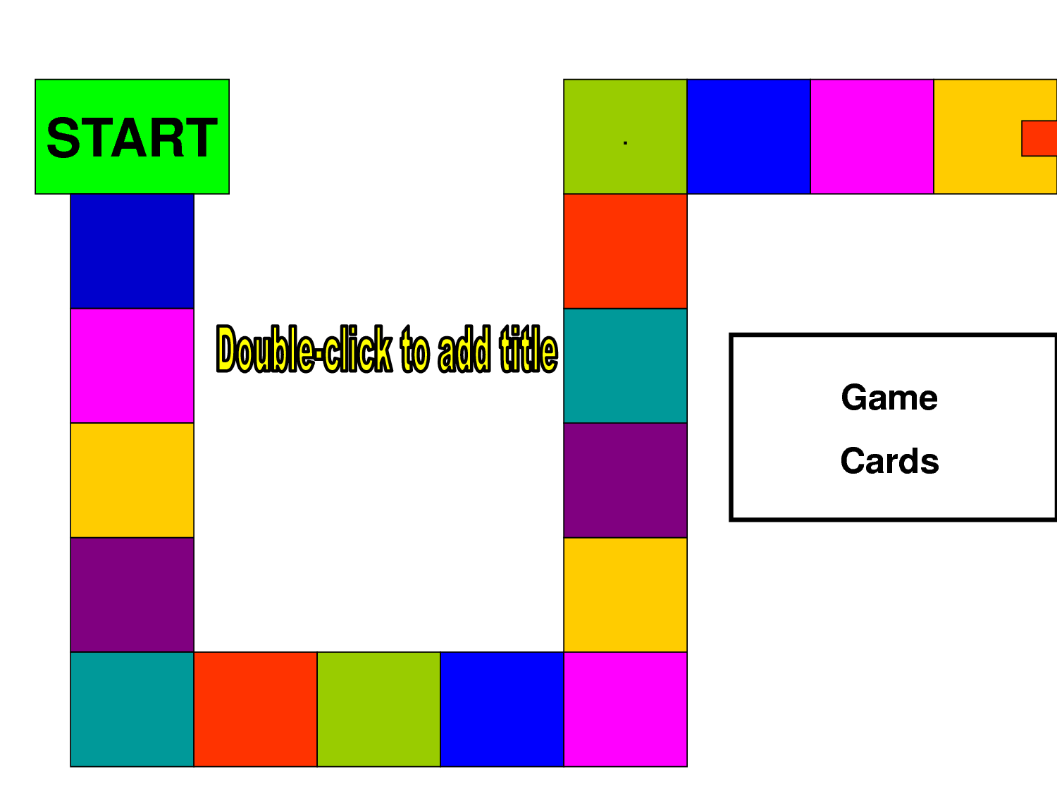 8 best images of printable game templates blank game for Free file folder game templates