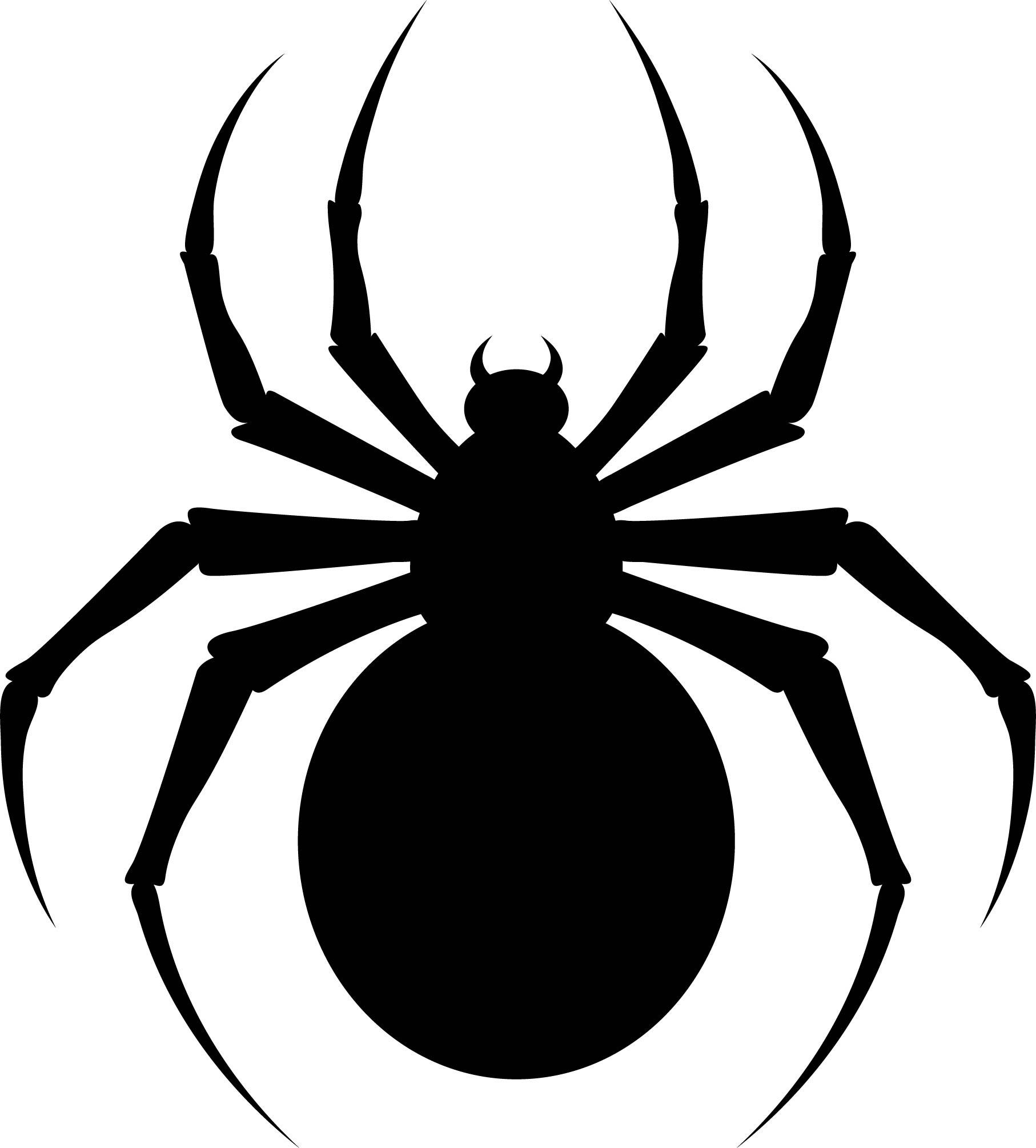 Halloween Spider Template