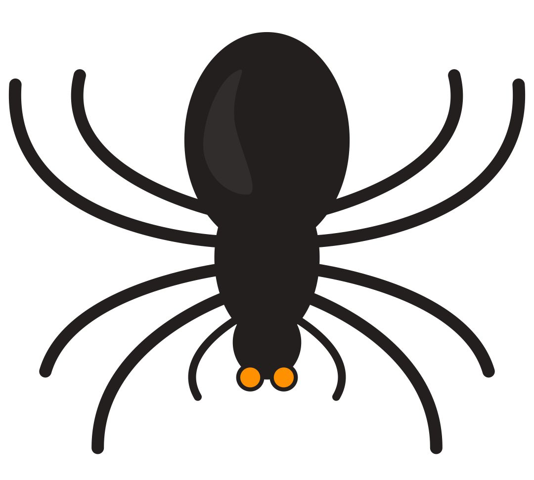 Halloween Spider Templates Printable