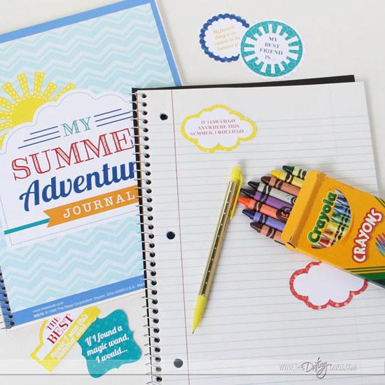 Kids Summer Journal Printable