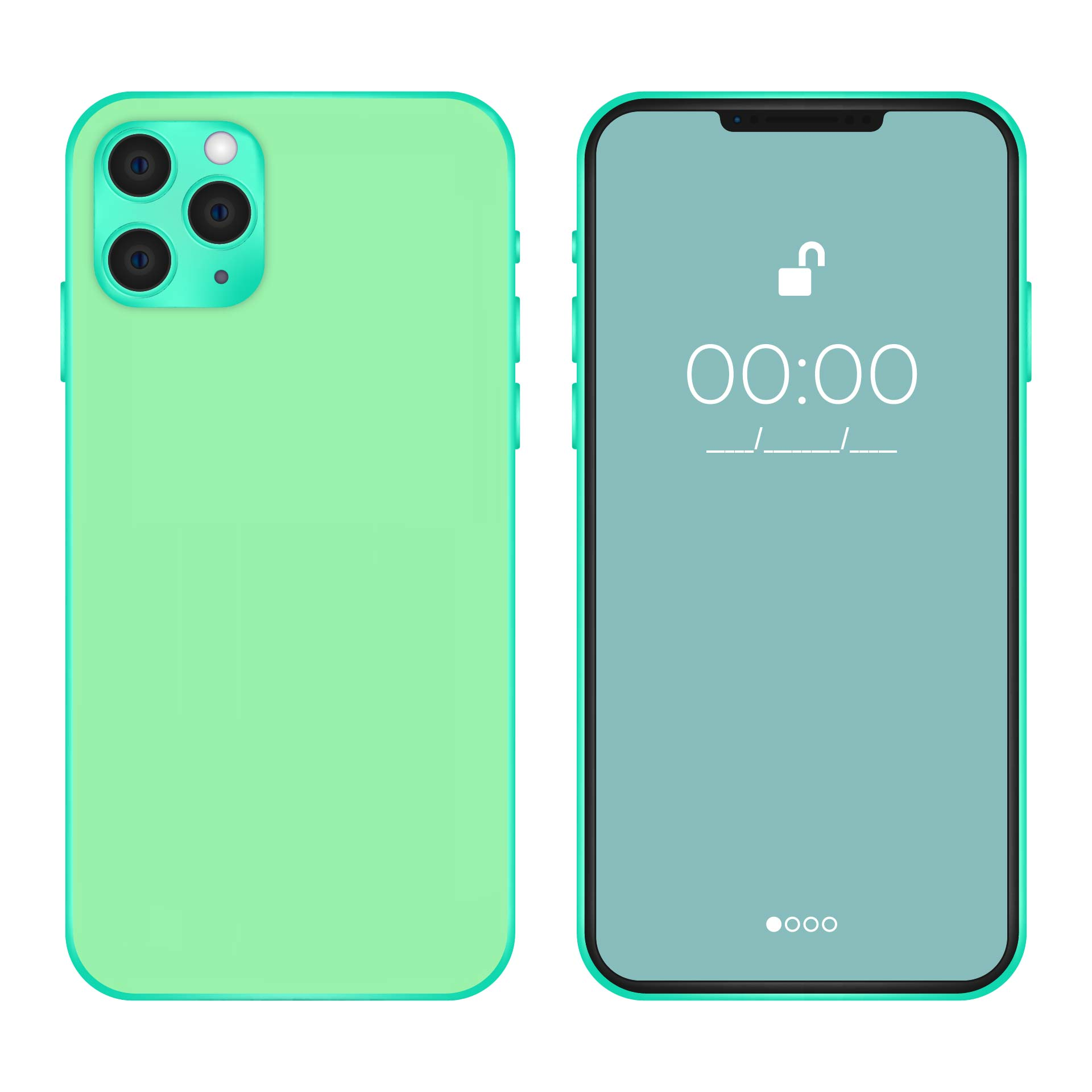 LPs iPhone Print Outs Front and Back
