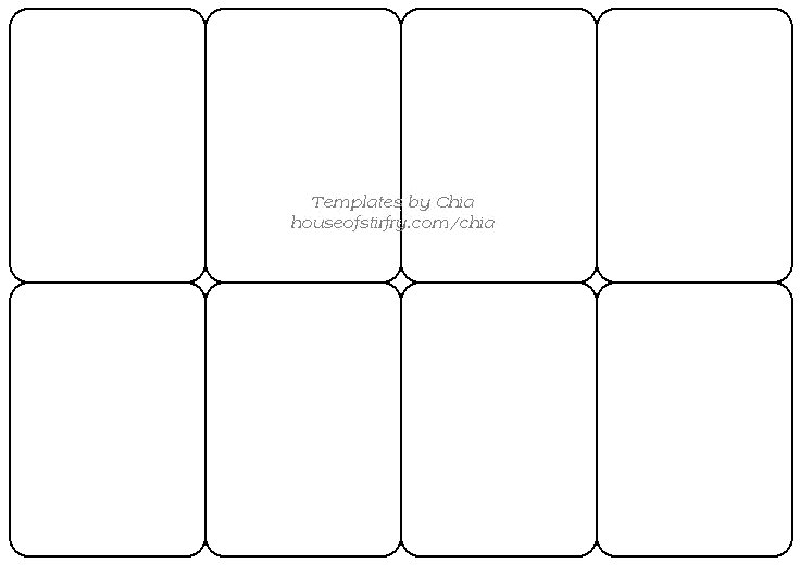 7 Images of Playing Card Printable Templates