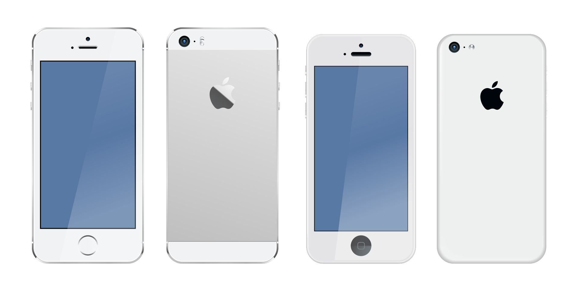 Printable Mini iPhone Pictures of Phones