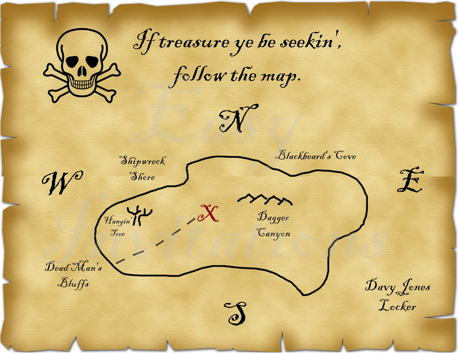 simple treasure maps vintage - photo #49