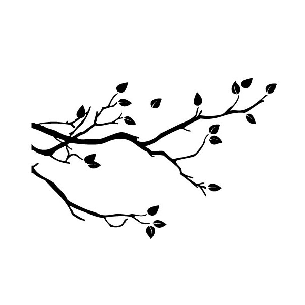 5 Images of Tree Branch Stencils Printable