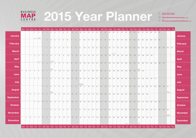 7 best images of yearly planner printable free printable for Yearly planning calendar template 2014