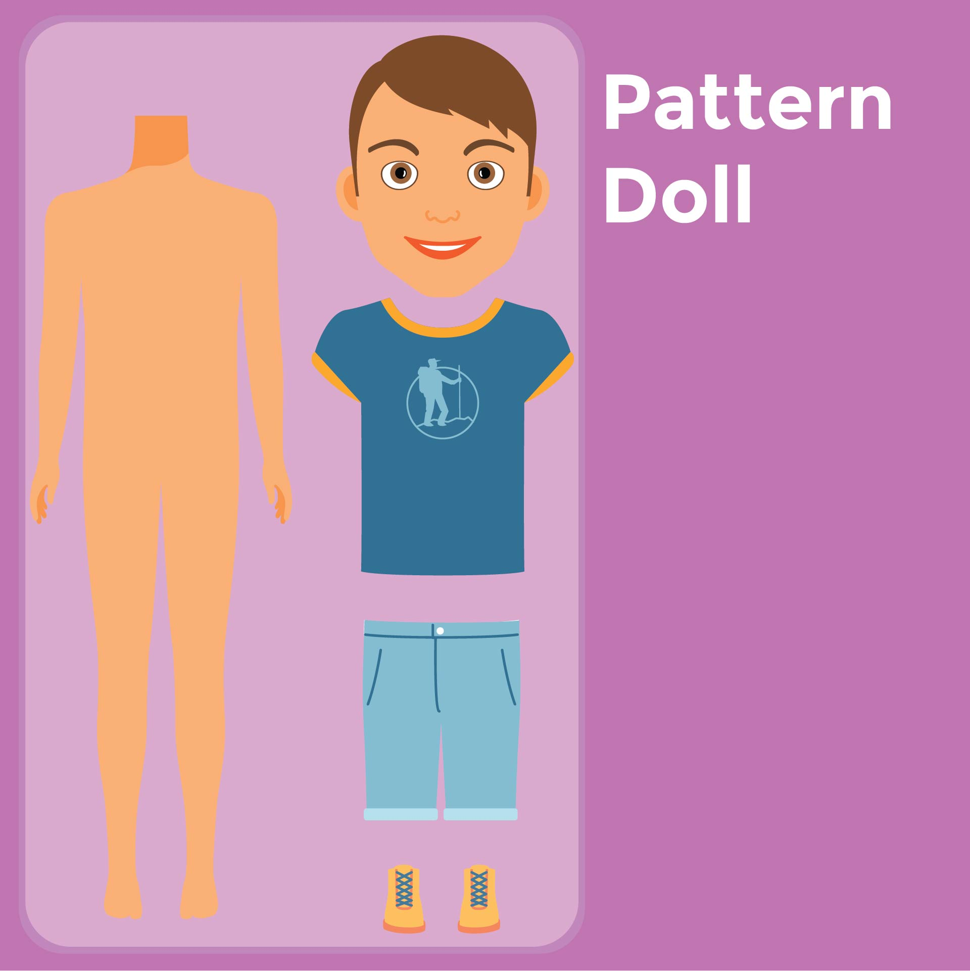 Rag Doll Cut Out Patterns