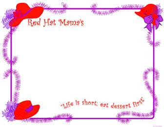 5 Images of Red Hat Society Free Printables