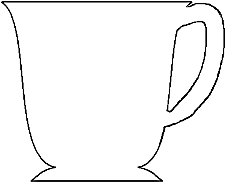 5 Images of Free Printable Tea Cup Template