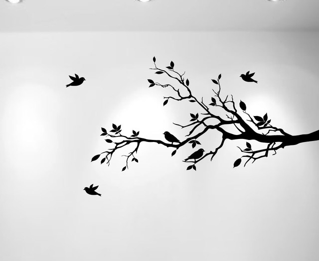 5 best images of tree branch stencils printable