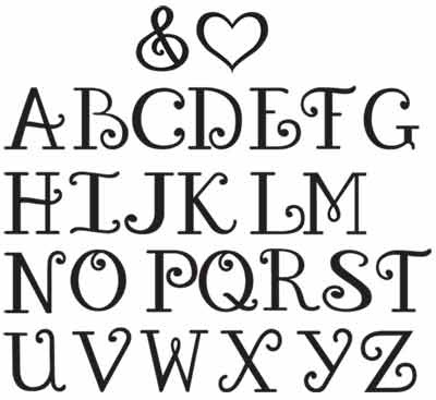 6 Images of Free Fun Printable Alphabet Letters