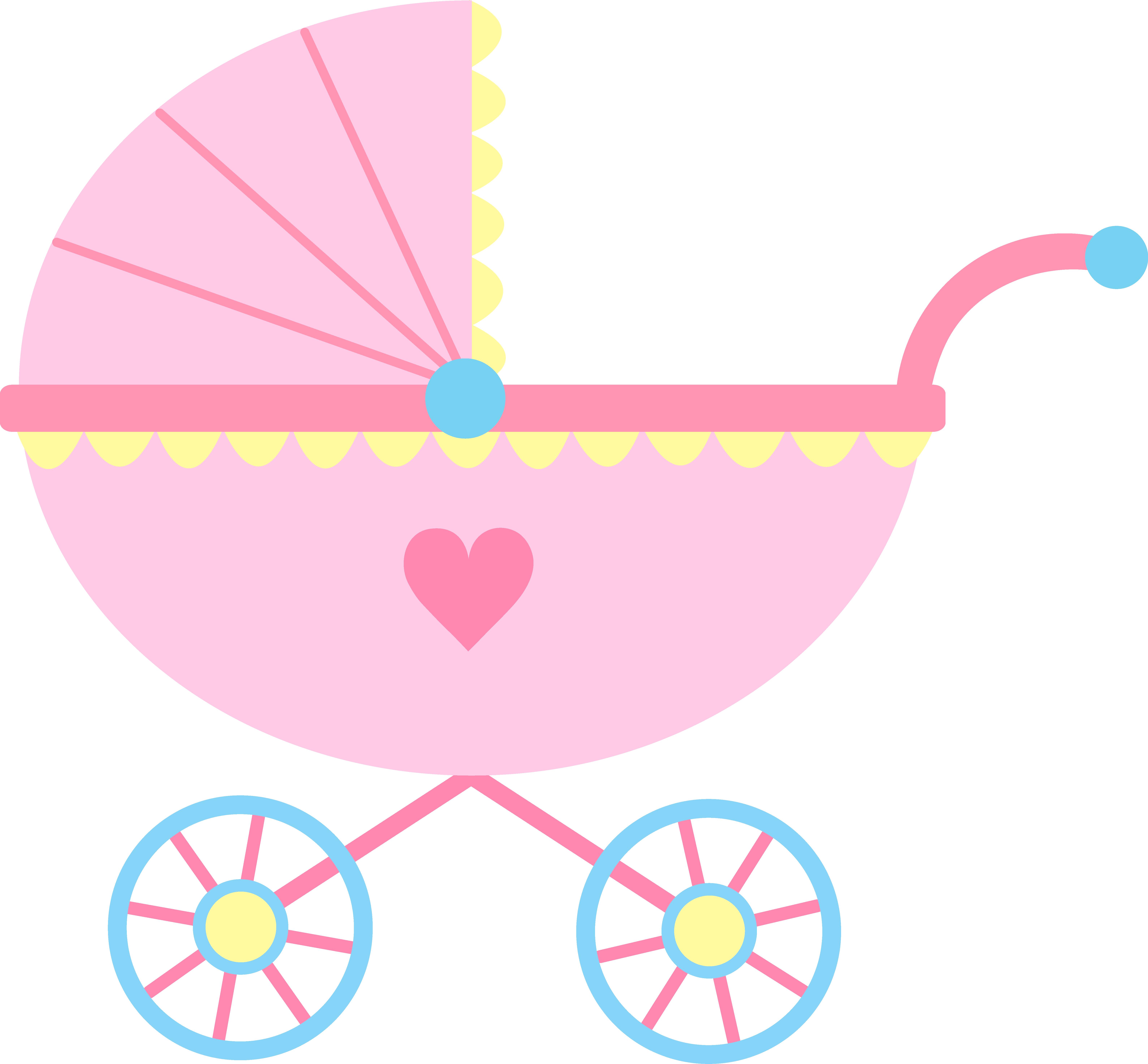 Baby Girl Baby Shower Clip Art Free