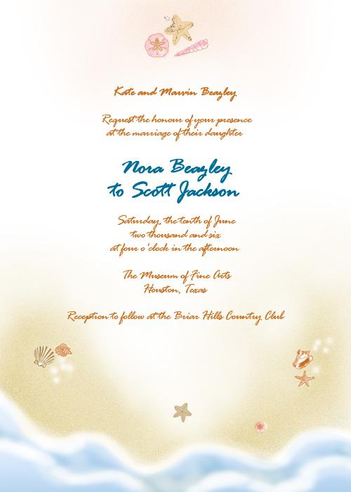 4 Images of Free Printable Wedding Invitation Kits