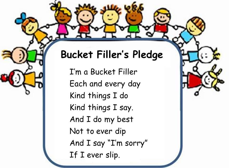 8 Images of Bucket Filler Printables PDF
