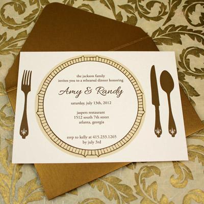 Dinner Invitation Sample Card – Dinner Invitation Sample