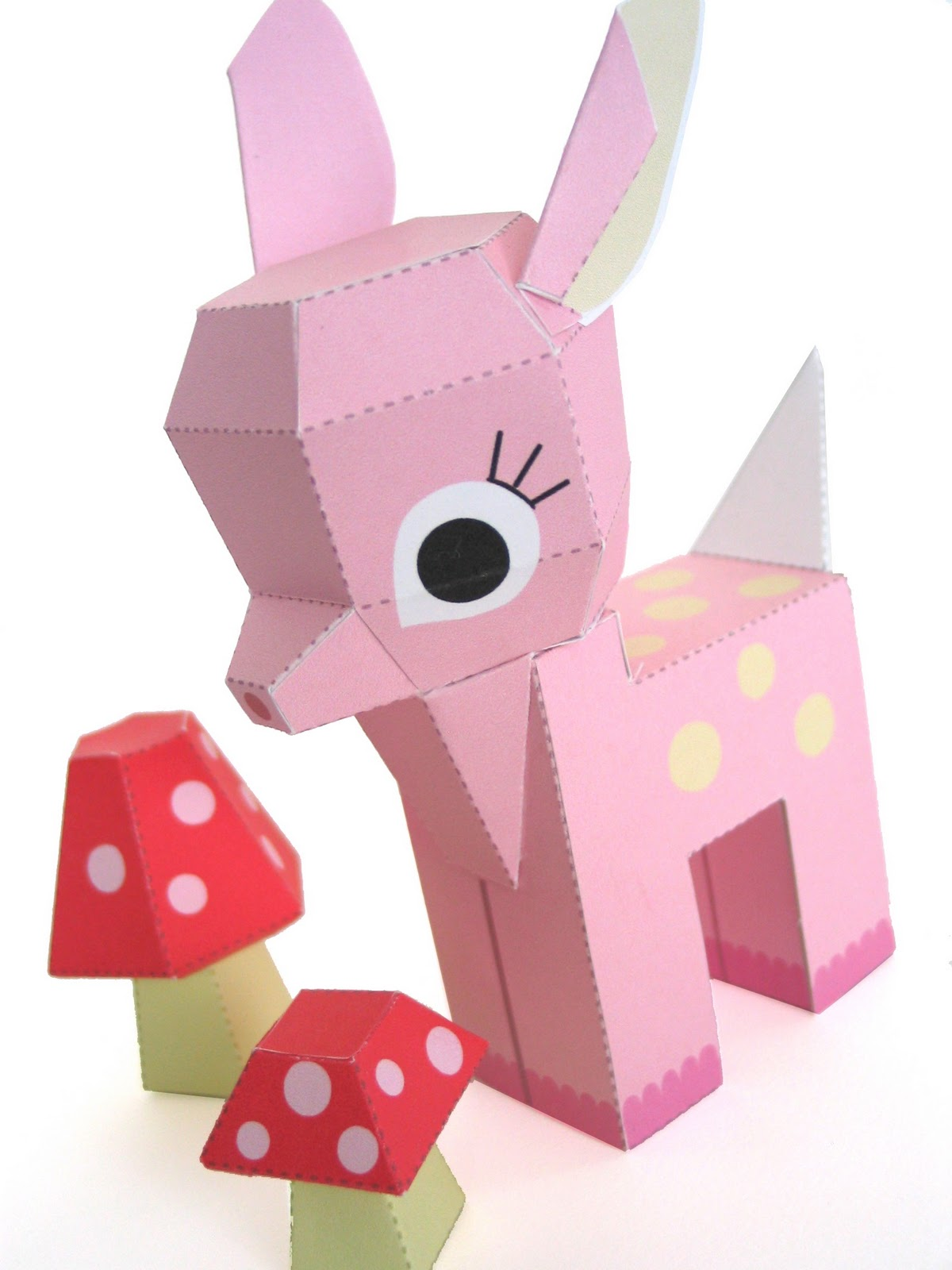 6 best images of free printable cute paper toys cute
