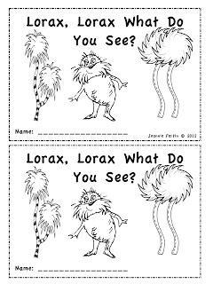math worksheet : 4 best images of dr seuss printables for kindergarten  free  : Dr Seuss Math Worksheets