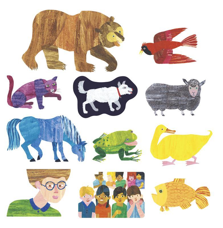 7 Images of Eric Carle Brown Bear Printables