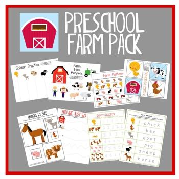 5 Images of Preschool Printables Farm