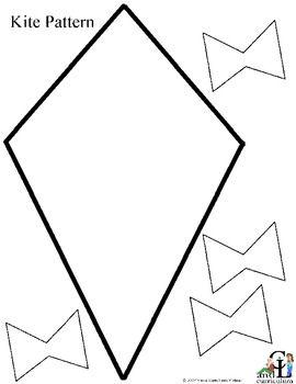 7 Images of Printable Kite Pattern