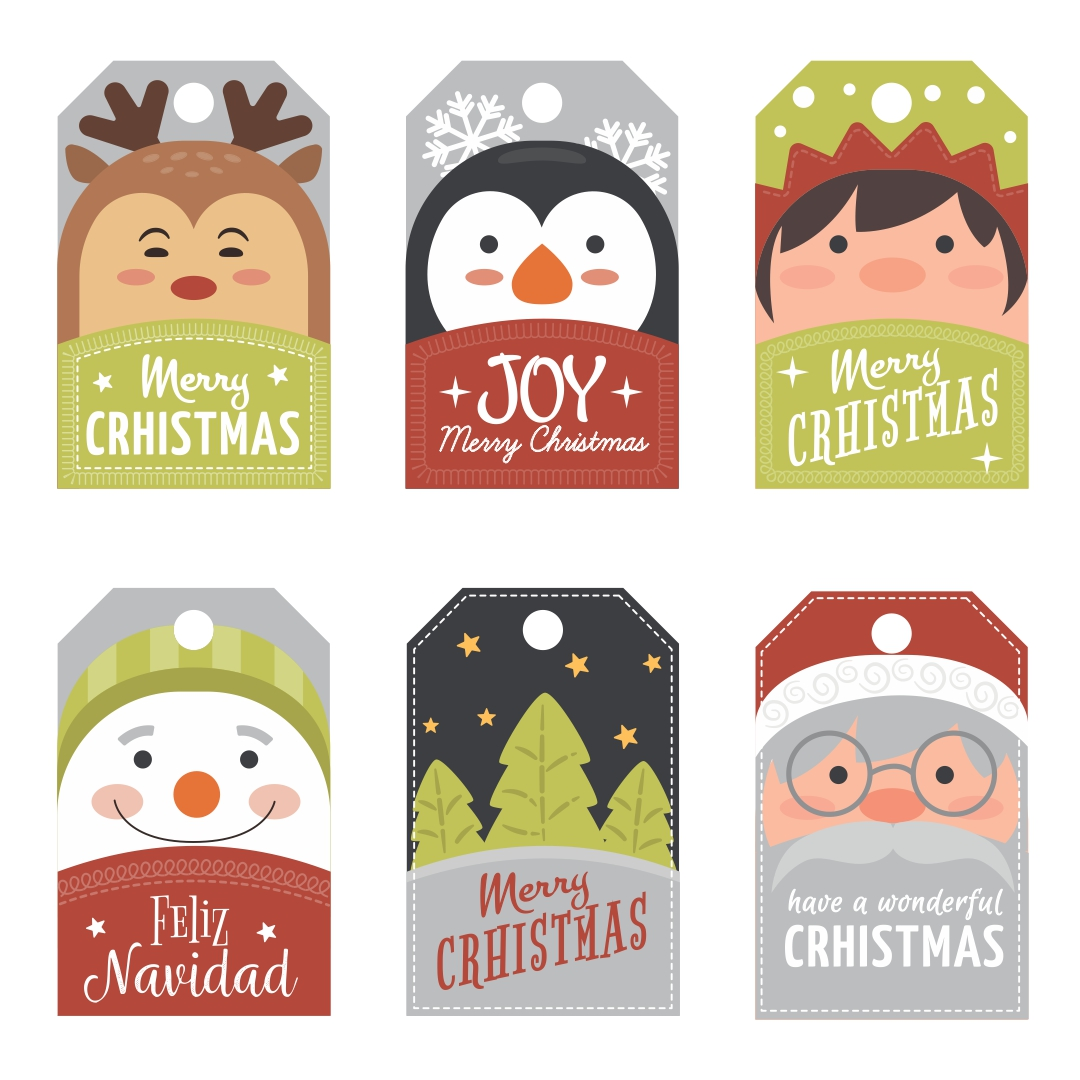 8 best images of printable christmas gift cards free for Free printable gift tags templates
