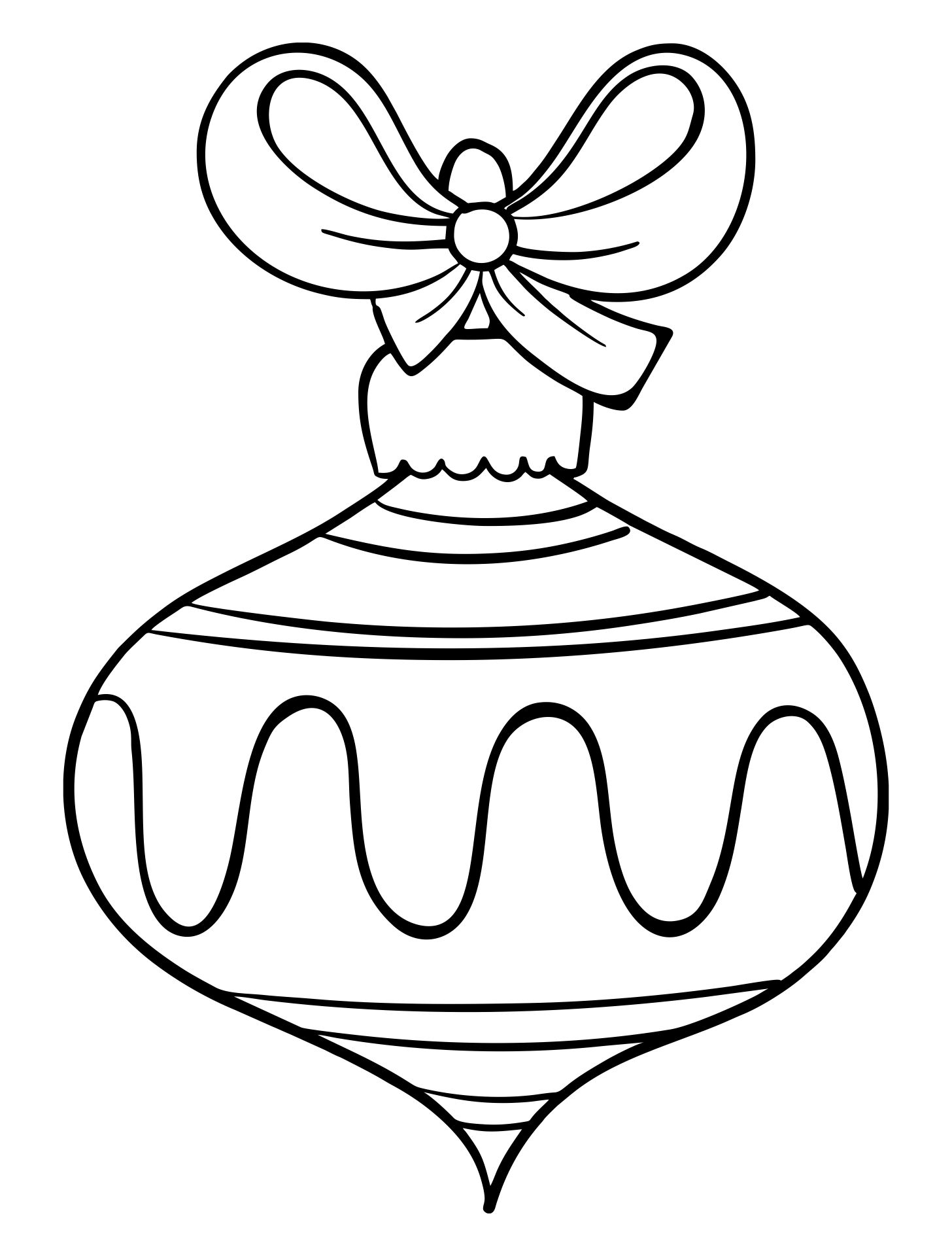 Coloring Pages Christmas Ornaments Printable