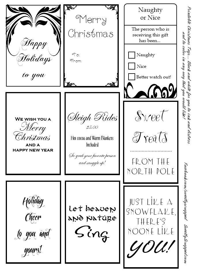 6 Images of Free Printable Tags Templates Black And White