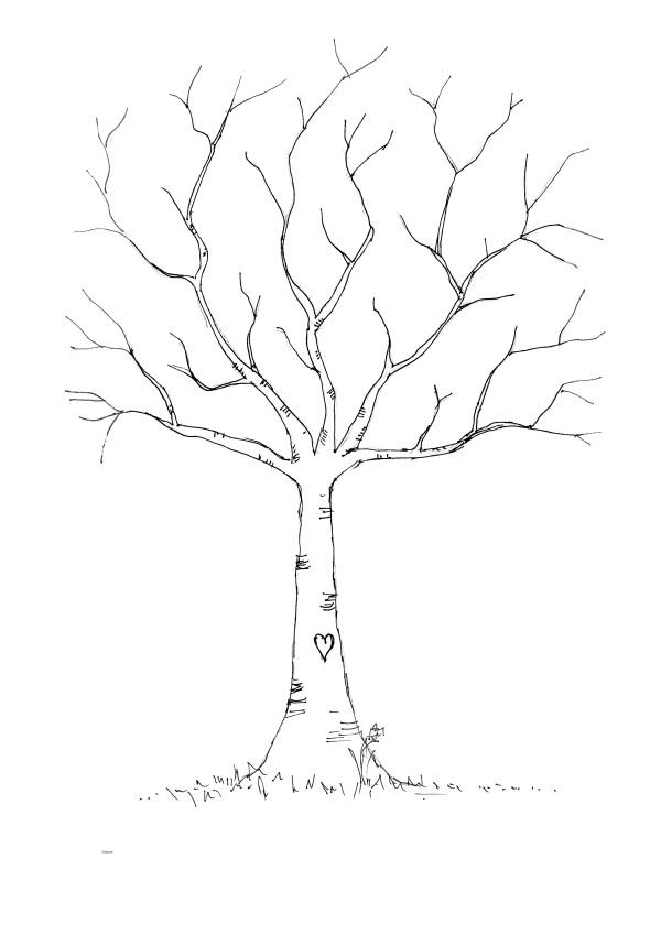 6 Images of Thumbprint Tree Printable