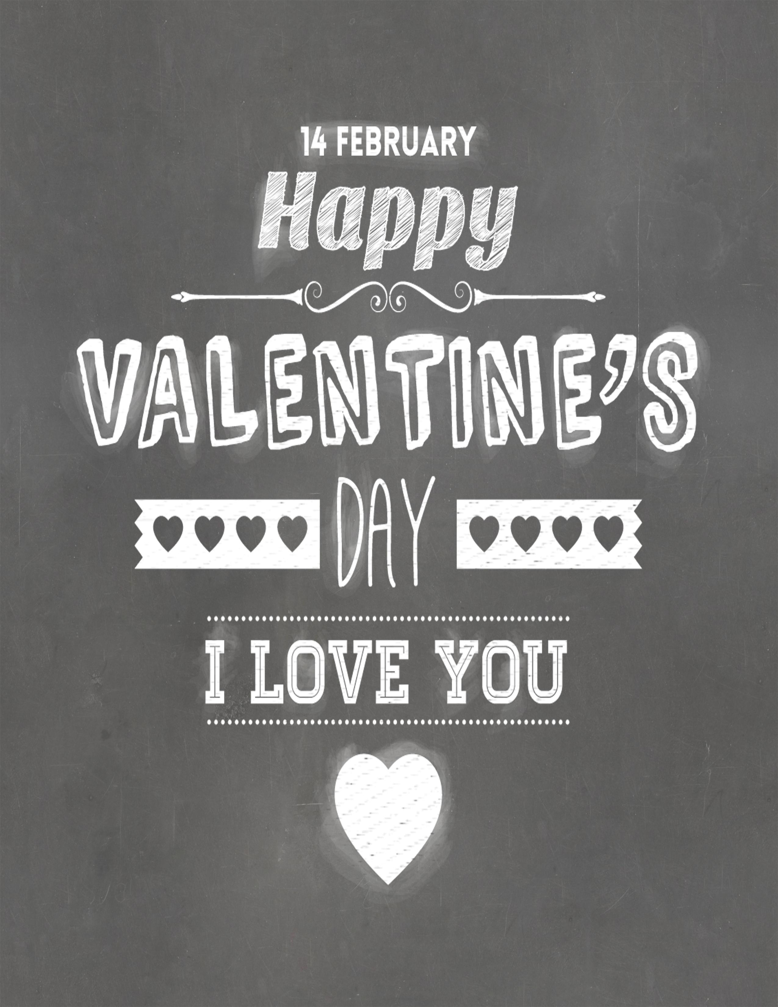 Free Printable Happy Valentine Day Sign
