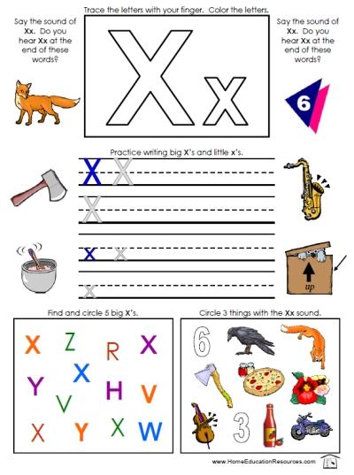 Preschool Worksheets &...