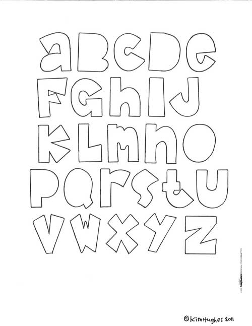 6 Images of Free Printable Scrapbook Letters