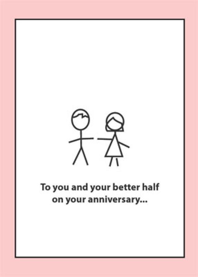 9 Images of Funny Wedding Anniversary Cards Printable