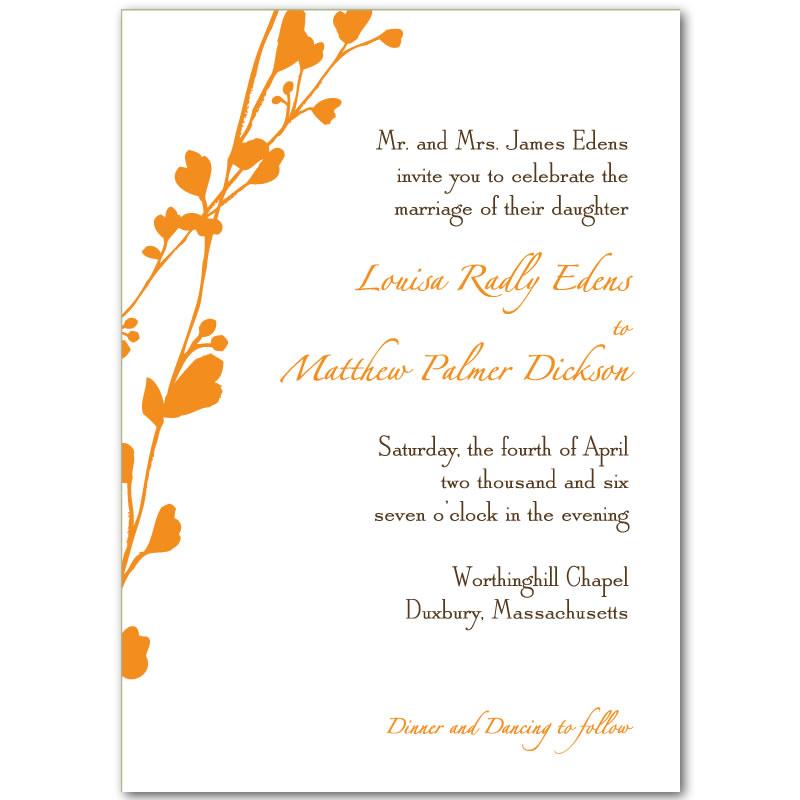 Marriage Invitation Card Templates with perfect invitation design